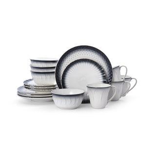 Link to Pfaltzgraff Blake Black 16 piece Dinnerware Set (Service for 4) Similar Items in Dinnerware