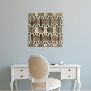Easy Art Prints June Erica Vess's 'Driftwood Geometry IV' Premium Canvas Art