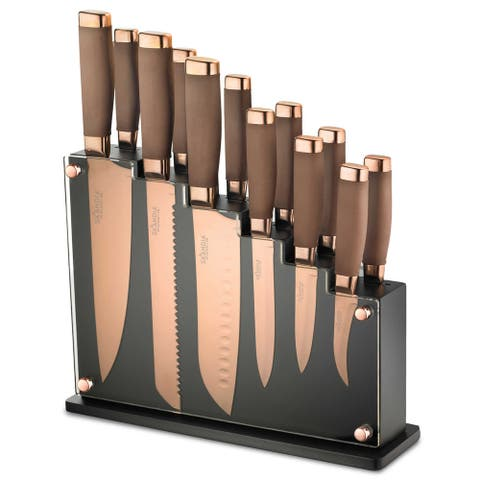 Hampton Forge Skandia Forte 13-Piece Knife Block Set
