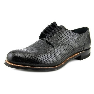 Stacy Adams Madison Men  Round Toe Leather Black Oxford
