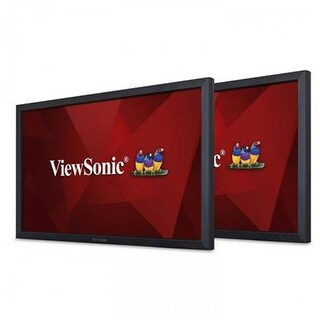 "Viewsonic Vg2449-H2 24"" Dual Pack Head-Only 1080P Monitors Hdmi, Displayport, Mini Dp, Dp Out, Vga, Daisy Chain"