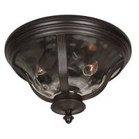Craftmade Z6017 Frances 2-Light Outdoor Ceiling Fixture - Oiled Bronze - N/A