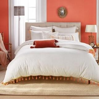 Link to Zoe Boho Tassel Comforter and Sham Set Similar Items in Comforter Sets