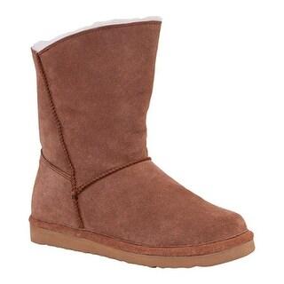 Old Friend Women's Slip-On Boot Chestnut Leather