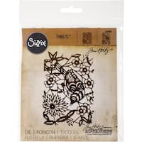 Sizzix Thinlits Dies By Tim Holtz-Paper-Cut Bird
