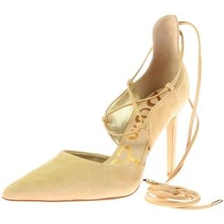 Sam Edelman Womens Dayna Suede Pointed Toe D'Orsay Heels - 8 medium (b,m)