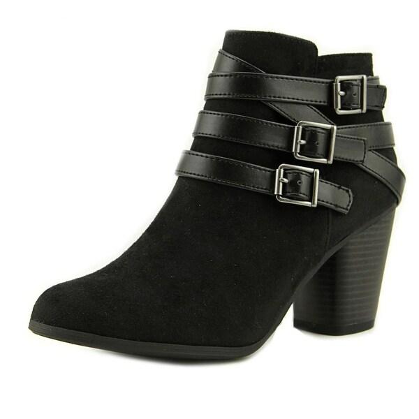 Material Girl Minah Women Black Boots