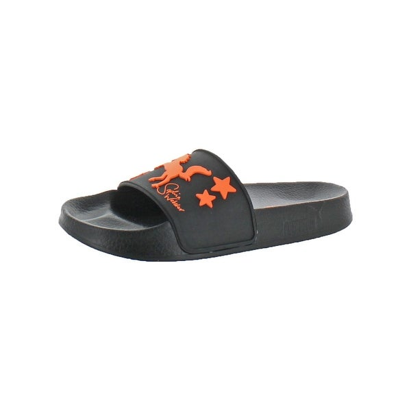 Shop Puma Womens Leadcat Rubber Slide Sandals Pool Lounge - Free ... a1da3a437