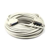 Monoprice 100ft Molded DB25 Male/Male Cable