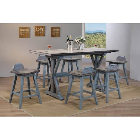 Colorado Counter Height 7 Piece Dining Set