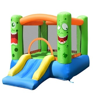 "Link to CostwayInflatable Bounce House Jumper Castle Kids Playhouse w/ - 110""×83""×67"" (L×W×H) Similar Items in Outdoor Play"