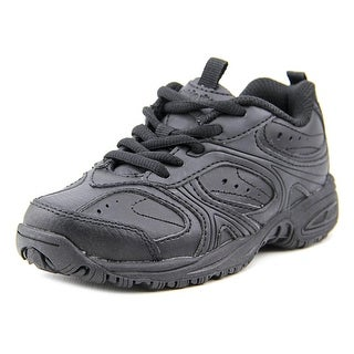 Stride Rite Cooper Lace W Round Toe Leather Sneakers