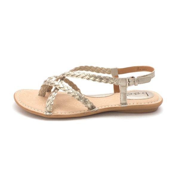 B.O.C Womens Lauper Open Toe Casual Slingback Sandals