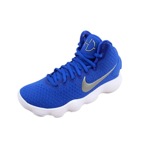 low priced 7f36f bf640 ... Athletic Shoes. Nike Women  x27 s Hyperdunk 2017 TB Game Royal Metallic  Silver 897813-