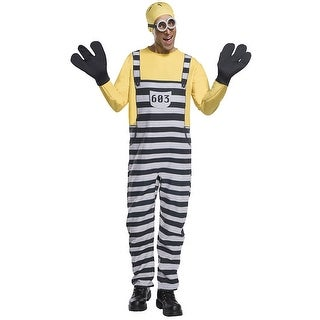 Despicable Me 3 Jail Minion Tom Adult Costume