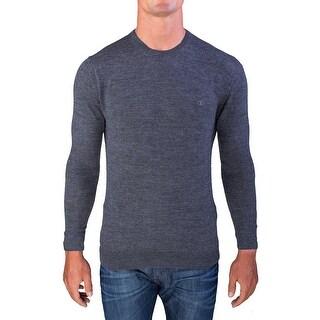 Valentino Men's Crew Neck Sweater Grey