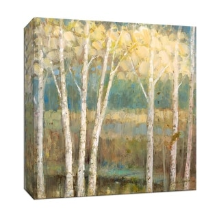 """PTM Images 9-147193  PTM Canvas Collection 12"""" x 12"""" - """"Nature's Pallet II"""" Giclee Trees Art Print on Canvas"""