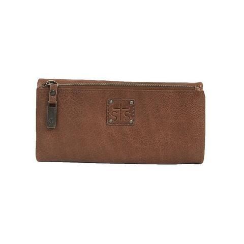 StS Ranchwear Western Wallet Womens Mesa Tri-Fold Brown - One Size