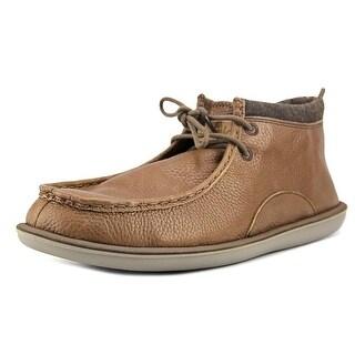 Sanuk Walla Deluxe   Moc Toe Leather  Boot