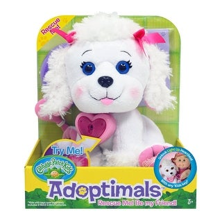 "Cabbage Patch Kids Adoptimals 9"" Plush Pet: Poodle - multi"