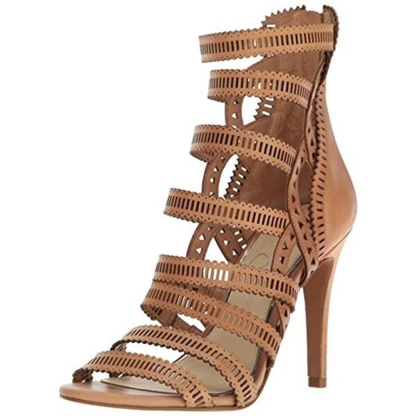 Jessica Simpson Womens Elisbette Dress Sandals Evening Caged - 9 medium (b,m)