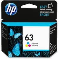 HP 63 Tri-Color Original Ink Cartridge (F6U61AN)(Single Pack)