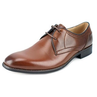 Steve Madden Lancastr Men  Round Toe Leather Brown Oxford