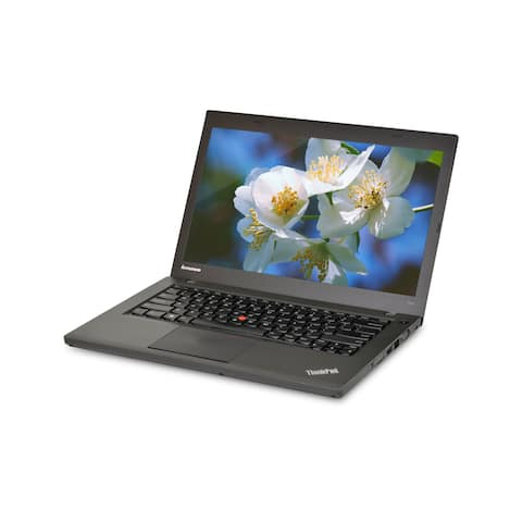 Lenovo ThinkPad T440 Core i5-4300U 1.9GHz 4th Gen CPU 8GB RAM 320GB HDD Windows 10 Pro 14-inch Laptop (Refurbished)
