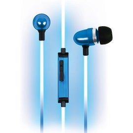 Pilot Automotive Electroluminscent V2 Audio Response Light up Handsfree Earbuds Headphone