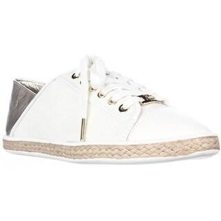 MICHAEL Michael Kors Kristy Slide Heel Cap Espadrille Sneakers - Pale Gold