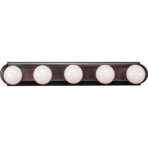 "Volume Lighting V1125 30"" Width 5-Light Bathroom Vanity Strip - N/A"
