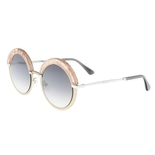 Link to Jimmy Choo Gotha/S 068I Semi Matte Black Round Sunglasses - 50-22-145 Similar Items in Designer Handbags