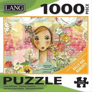 LANG 50380-30 Jigsaw Puzzle 1000 Pieces, Joyful Girl - 29 x 20 in.