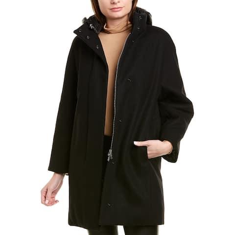 Add Wool-Blend Down Jacket