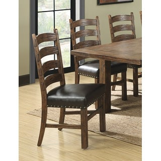 Link to The Gray Barn Rustic Ladderback Dining Chair (Set of 2) Similar Items in Dining Room & Bar Furniture