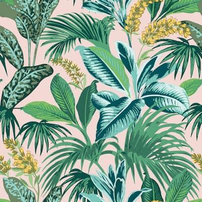 Havana Palm Peel and Stick Wallpaper