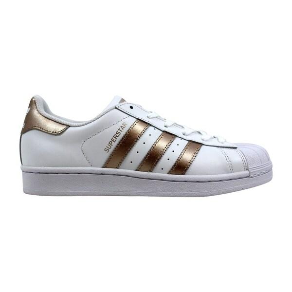 adidas superstar blanche et bronze