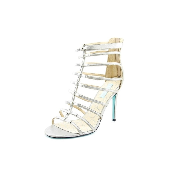 Betsey Johnson Tie Open Toe Synthetic Gladiator Sandal