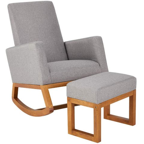 Rocking Chair,Mid Century Accent Chair