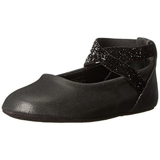 Kenneth Cole New York Baby Tap Ur It Infant Girls Shimmer Tap Shoes - 2 medium (b,m)