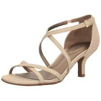 LifeStride Womens Flaunt Open Toe Special Occasion Ankle Strap Sandals