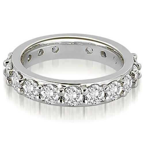 2.00 cttw. 14K White Gold Round Diamond Eternity Ring