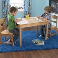 KidKraft: Rectangle Table & 2 Chairs - Natural