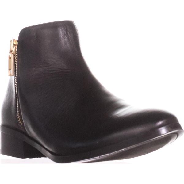 Aldo Julianna Side Zip Ankle Boots, Black