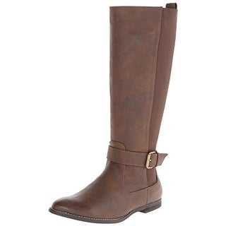 Very Volatile Womens Griggs Riding Boots Faux Leather Knee-High