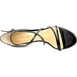 Ivanka Trump Womens Garis Leather Open Toe Ankle Strap D-orsay Pumps US