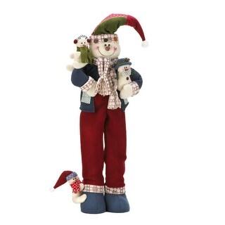Merry Snowman Plush Decor