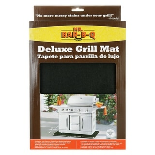 "Mr. Bar-B-Q 40124X Deluxe Grill Mat, 60""x30"""