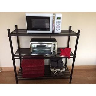 Trinity Dark Bronze 4-Tier Indoor Shelving Rack