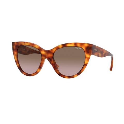 Vogue VO5339S 279214 52 Yellow Havana Woman Cat Eye Sunglasses